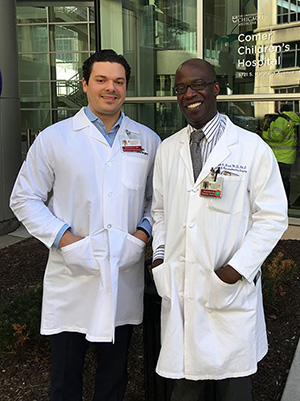 Dr. Stosich Dr. Reid UChicago Craniofacial Team
