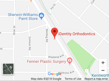 Wilmette Kenilworth Office Map